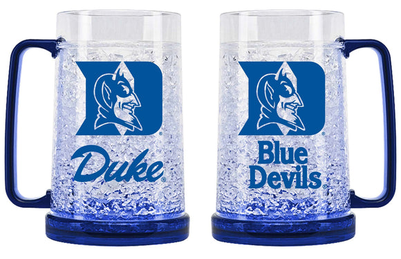 Duke Blue Devils Crystal Freezer Mug