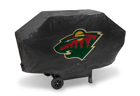 Minnesota Wild Grill Cover Deluxe - Special Order
