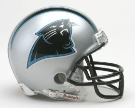 Carolina Panthers Replica Mini Helmet w/ Z2B Face Mask