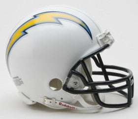 Los Angeles Chargers Helmet Riddell Replica Mini VSR4 Style