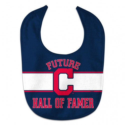 Cleveland Indians Baby Bib All Pro Style Future Hall of Famer Design - Special Order