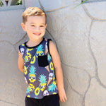 Boys Jersey Pocket Tank