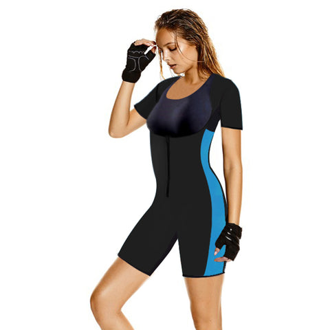 Sauna Suit Full Body Shaper With Sleeves