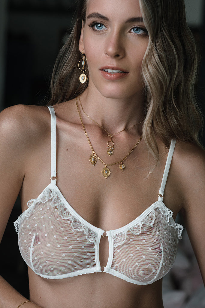 ODETTE VERTICAL SEAMS BRA
