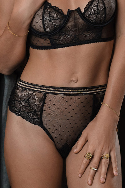 ACHILLE HIGH WAIST PANTY