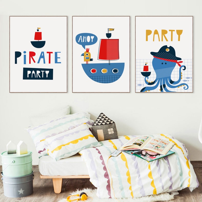 affiches posters chambres enfants