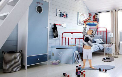 inspiration chambre enfant marin