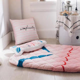 sac de couchage sirene rose