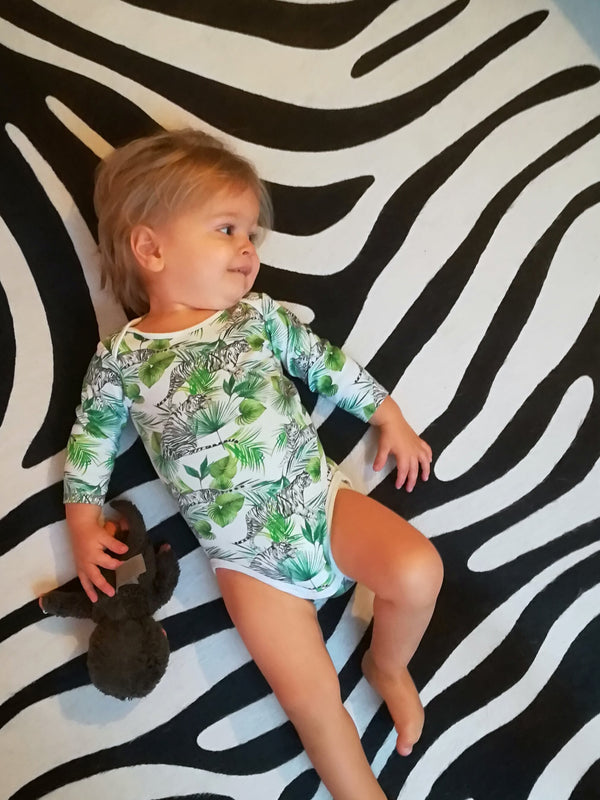 body manches longues tigre bebe