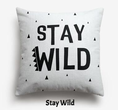 coussin nordique stay wild