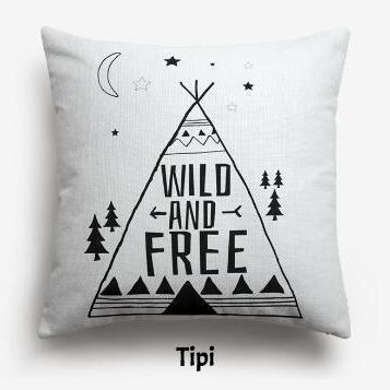coussin tipi indien