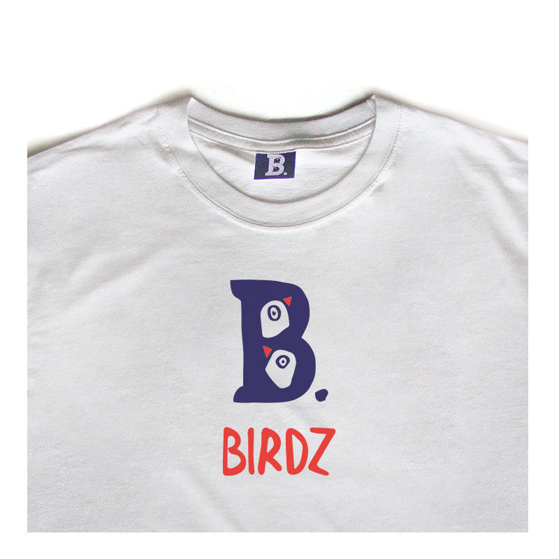 t-shirt BB Birdz blanc enfants