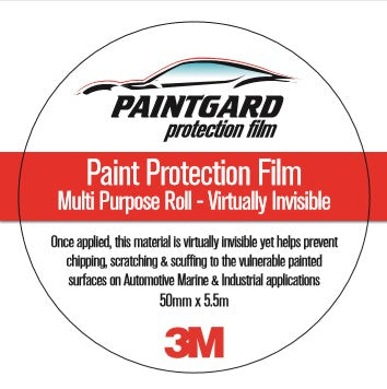 Paintgard 3M Scotchgard PPF  Roll 50mm x 5 meters