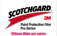 Paintgard 3M Paint Protection Clear Film Roll 100mm wide per meter