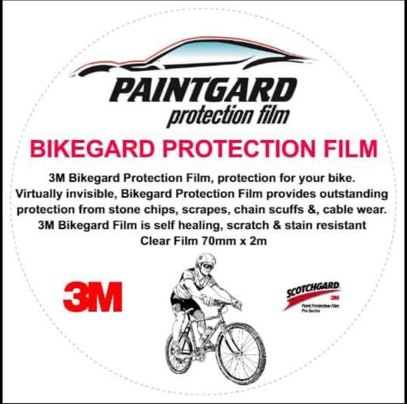 Bikegard 3M Pro Series Protection Film 70mm x 2.5 meters