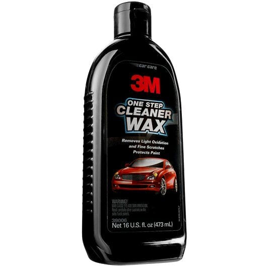 3M Car Care One Step Cleaner Wax