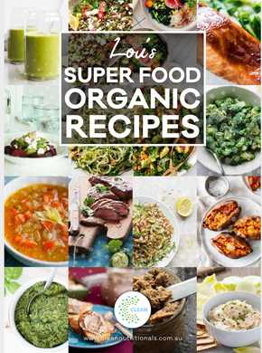Clean Food Fast Program Recipe book