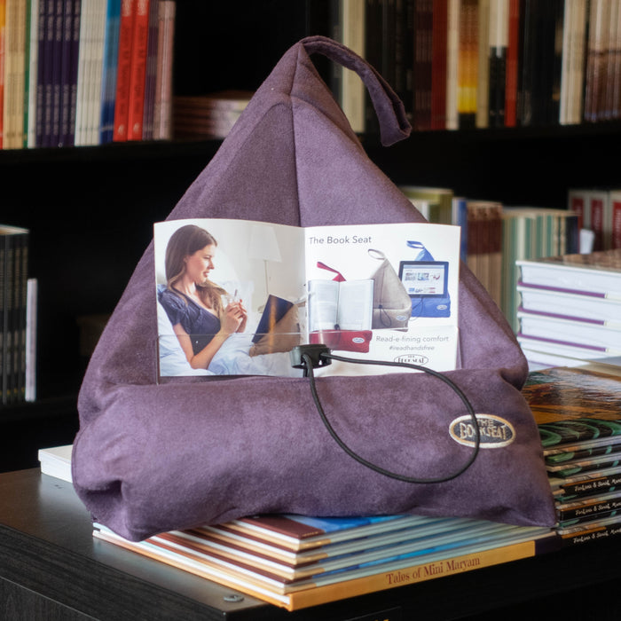 The Book Seat: Aubergine Purple