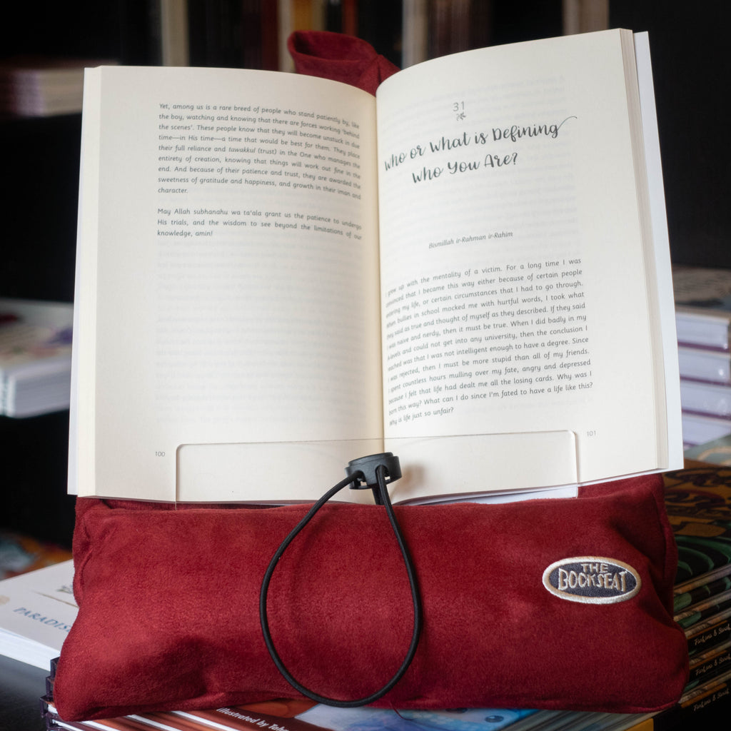 The Book Seat: Cinnabar Red