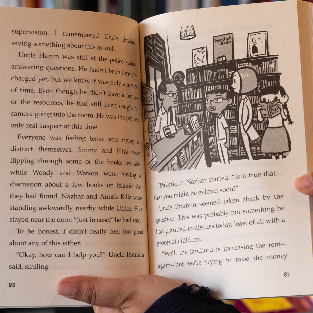 Sherlock Sam and the Burgled Book in Kampong Glam