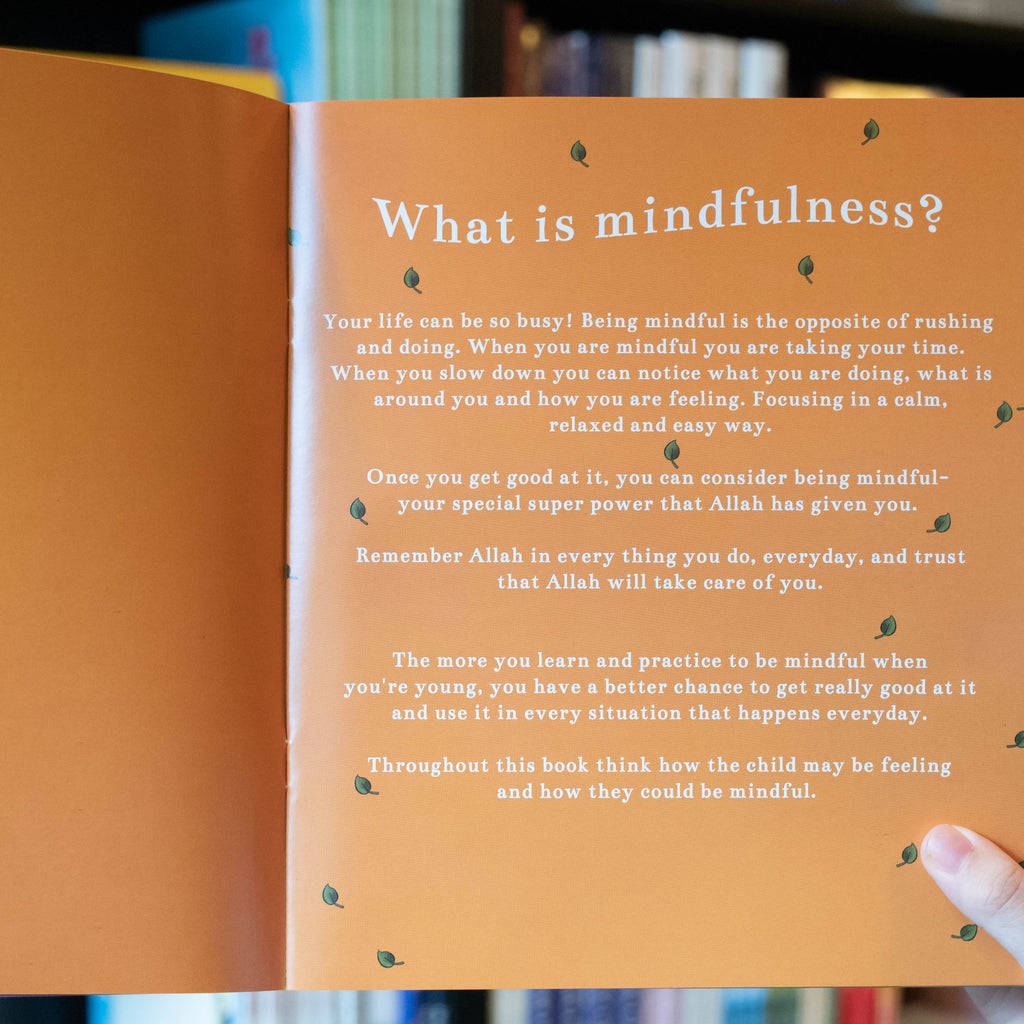 Mindful Everyday: A Children's Book on Islamic Mindfulness