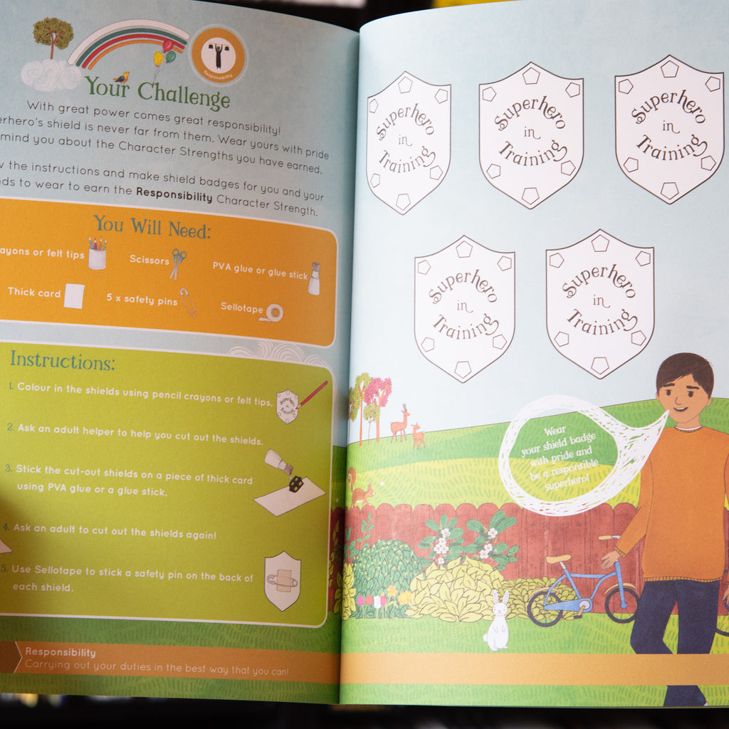 My Brother's Shield Activity Book