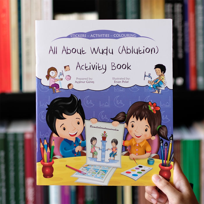 All About Wudu Activity Book