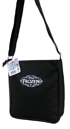Disney Frozen Olaf Snowman Shoulder Messenger Bag Black - Ace Handbag