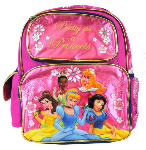 "Disney Princess 16"" Large School Backpack - Ace Trading Co."