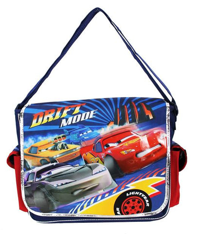 Disney Cars Messenger Bag - Drift Star Lightning McQueen Boys Shoulder Sash - Ace Trading Co.