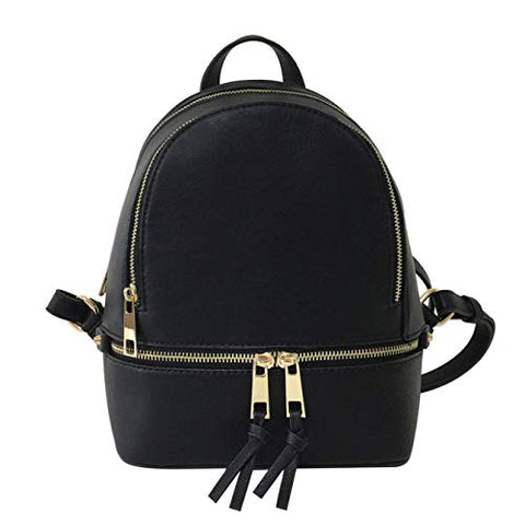 LP1082W Fashion Backpack BK - Ace Trading Co.
