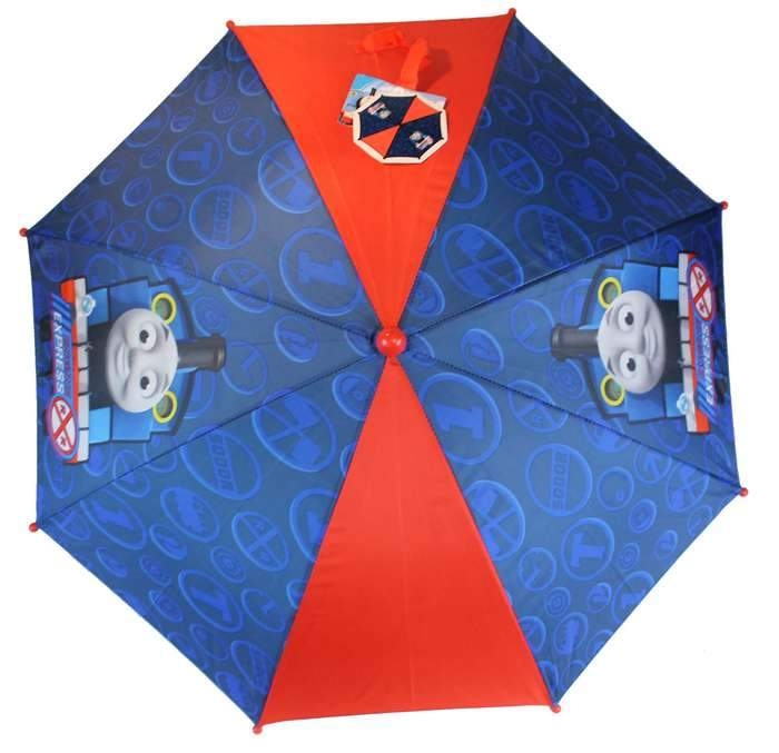 Thomas the Tank Engine Kids UMBRELLA - GIFT UMBRELLA 3D HANDLE - Ace Handbag