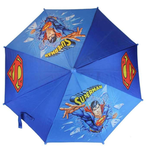 Superman Action Kids UMBRELLA - GIFT UMBRELLA 3D HANDLE - Ace Trading Co.