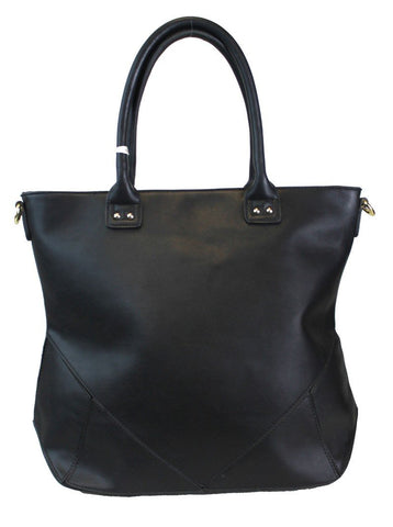 Classic Fashion Oversized Satchel Handbag Black - Ace Trading Co.