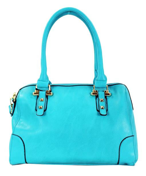 Casual 2 Way Fashion Tote Teal - Ace Handbag