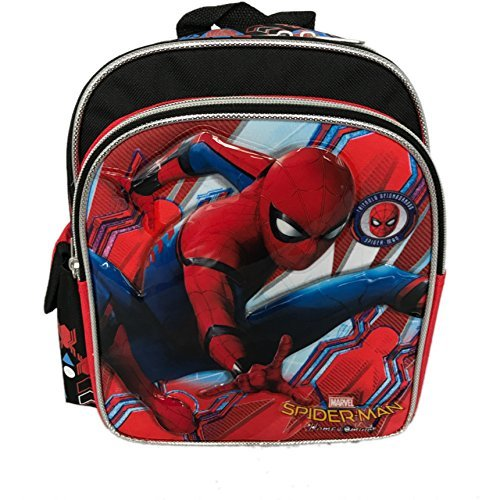 "Spiderman 10"" Mini Toddler Backpack School Bag - Ace Handbag"