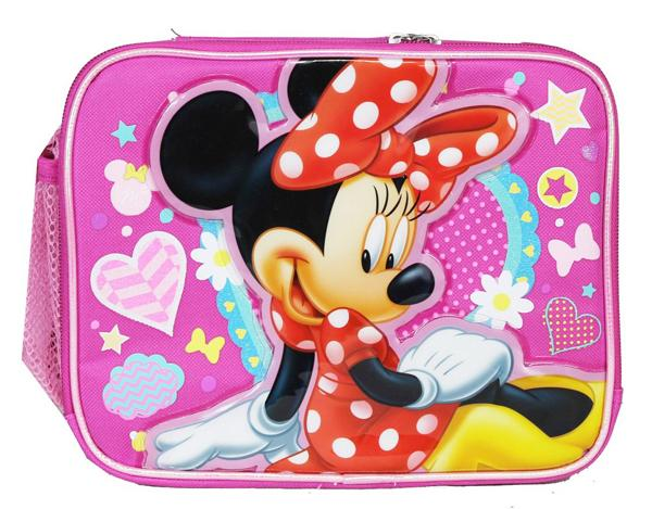 Disney Minnie Mouse Insulated Lunch Bag - Lunch Box - Ace Handbag