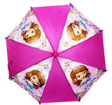 Disney Sofia the First New 3D Handle Umbrella Kids Girls Licensed - Ace Trading Co.