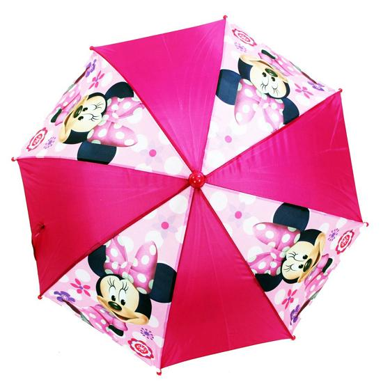 Licensed Minnie Mouse PINK KIDS 3D Handle Umbrella - Ace Handbag