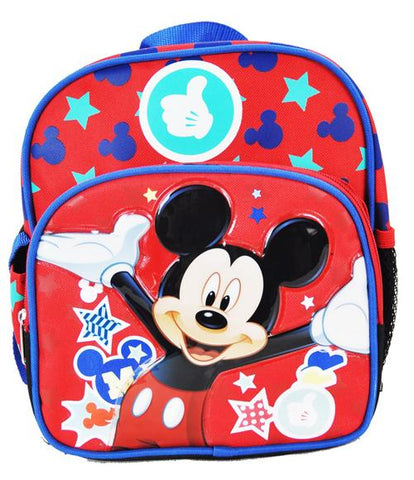 "Out to Play Mickey Mouse 10"" Mini Backpack - Ace Trading Co."