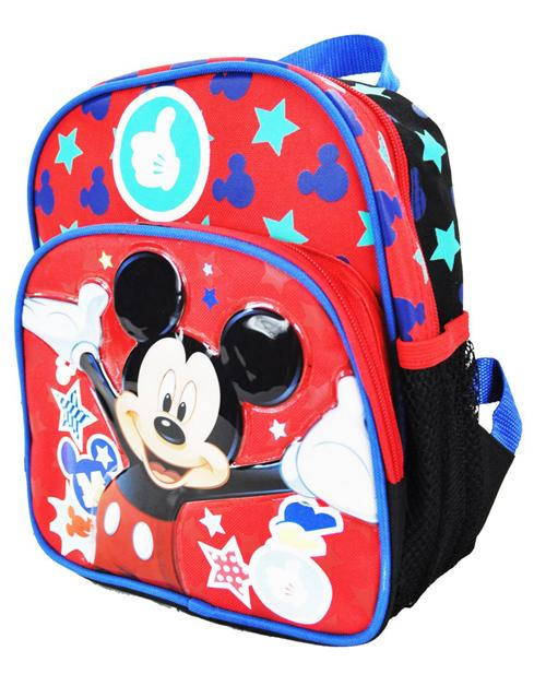 "Out to Play Mickey Mouse 10"" Mini Backpack - Ace Handbag"