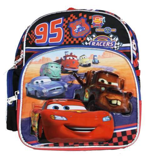 "Disney Pixar Cars Max Speed 10"" Mini Backpack - Toddler - Ace Handbag"