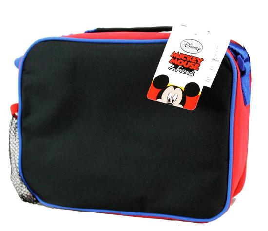 Disney Boys Insulated Lunch Box Tote Cooler Bag MICKEY MOUSE Donald Goofy - Ace Handbag