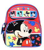"Disney Mickey Mouse 12"" Backpack - Goofy Friend Red Boys School Bag - Ace Trading Co."