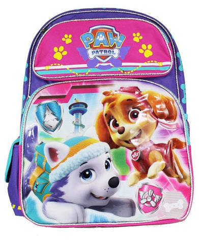 "Nickelodeon Paw Patrol Skye Everest Pink 16"" Large School Backpack - Ace Trading Co."