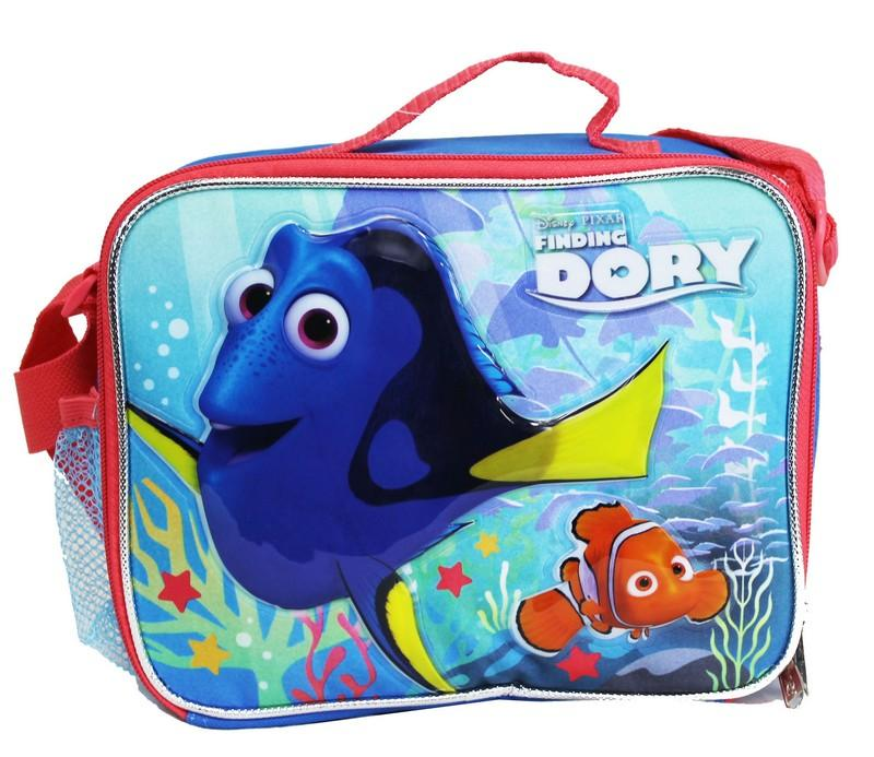 "Disney Pixar Finding Dory 16"" Large Rolling Backpack Set - Ace Handbag"