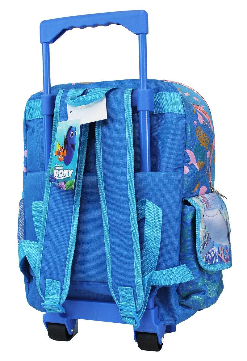 "Disney Pixar Finding Dory 16"" Large Rolling Backpack - Ace Handbag"