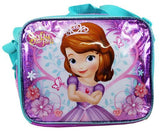 Disney Sofia the First Insulated Lunch Bag - Birdy Friends Pink Girls Snack Box - Ace Trading Co.