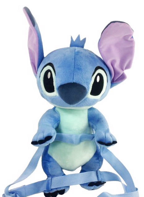 "Disney Lilo Stitch Blue 16"" Soft 2 in 1 Plush Doll - Ace Handbag"