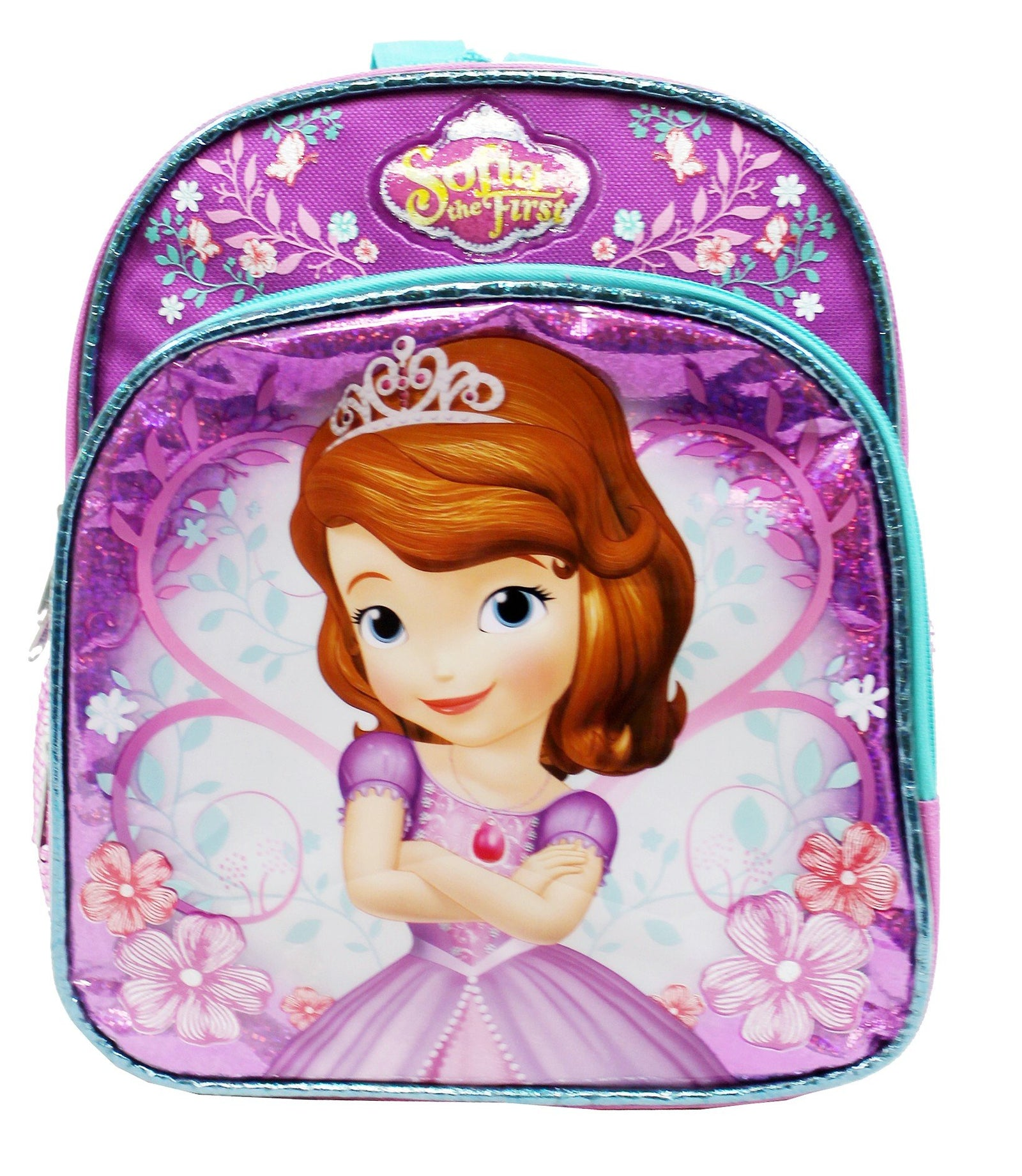 Disney Sofia the First Princess w/flowers Mini Backpack - Ace Handbag